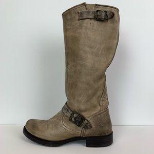 Frye Veronica slouch boot in slate